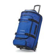 "Samsonite Detour 29"" Wheeled Duffel in the color Cobalt Blue."