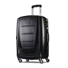 """Samsonite Winfield 2 Fashion 24"""" Spinner in the color Brushed Anthracite."""