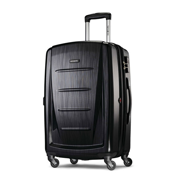 "Samsonite Winfield 2 Fashion 24"" Spinner in the color Brushed Anthracite."