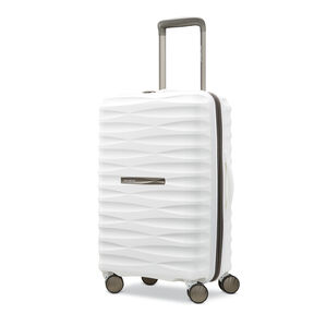 "Samsonite Voltage DLX 20"" Spinner in the color White."