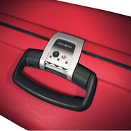 "Samsonite F'Lite GT 31"" Spinner in the color Red."