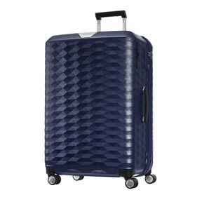 "Samsonite Polygon 28"" Spinner in the color Blue."