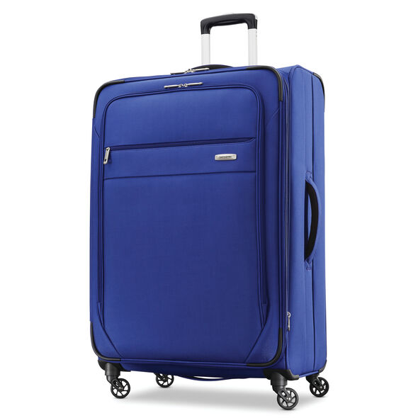 "Samsonite Advena 29"" Expandable Spinner in the color Cobalt Blue."