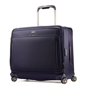 Samsonite Silhouette XV Large Glider in the color Twilight Blue.