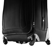 "Samsonite Bartlett 20"" Spinner in the color Black."