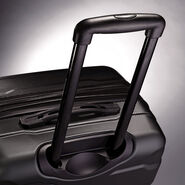 "Samsonite Omni PC 24"" Spinner in the color Black."