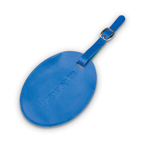 Samsonite Samsonite Large Vinyl ID Tag in the color Blue Fantasy.