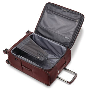 """Samsonite Silhouette 16 25"""" Expandable Spinner in the color Cabernet Red."""