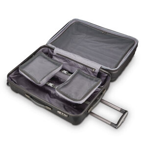 """Samsonite On Air 3 20"""" Spinner in the color Charcoal Grey."""