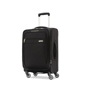 "Samsonite Advena 20"" Expandable Spinner in the color Black."
