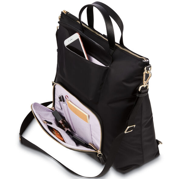 Samsonite Encompass Womens Convertible Brief Backpack in the color Black.