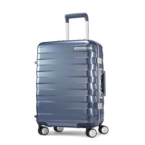 "Samsonite Framelock 20"" Spinner in the color Ice Blue."