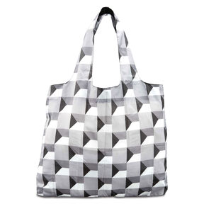 Foldable Shopper's Tote in the color Infinity Grey.