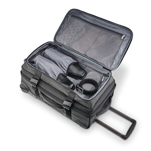 Samsonite SXK Wheeled Duffel in the color Black/Silver.