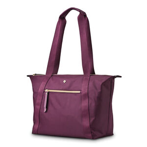 Mobile Solution Classic Carryall in the color Damson Purple.
