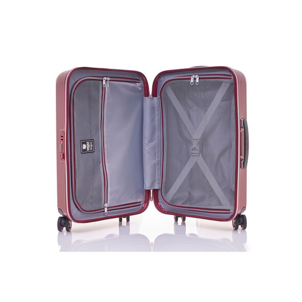 "Samsonite Pixelon 28"" Spinner in the color Ruby."