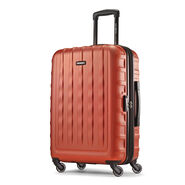 "Samsonite E-Volve DLX 24"" Spinner in the color Orange."