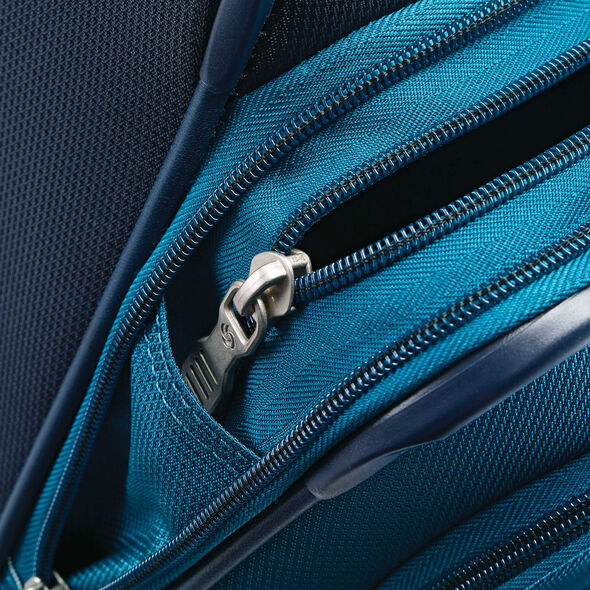 "Samsonite Eco-Nu 19"" Expandable Spinner in the color Pacific Blue/Navy."
