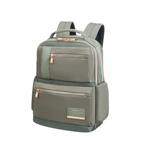 "Samsonite Openroad Chic Laptop Backpack 14.1"" in the color Olive Green."
