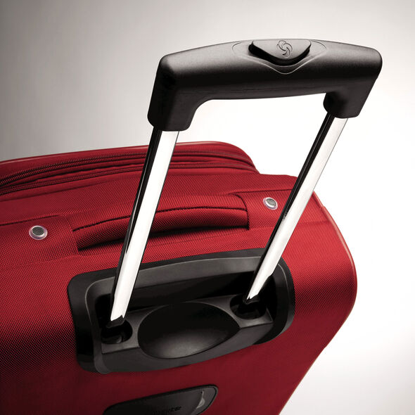 "Samsonite Bartlett 29"" Spinner in the color Red."
