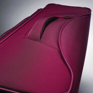 "Samsonite Eco-Nu 29"" Expandable Spinner in the color Raspberry."