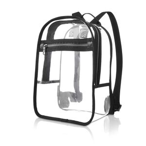 Go Clear Backpack in the color Clear.