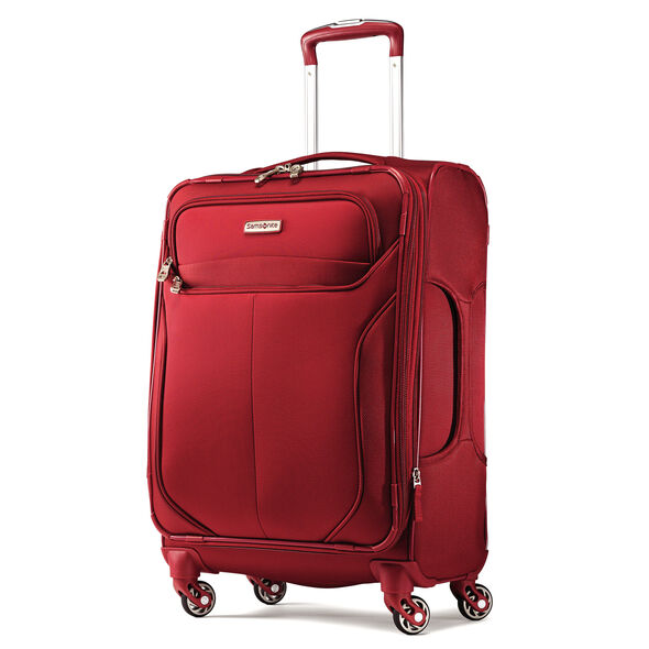 """Samsonite Lift 2 21"""" Spinner in the color Red."""