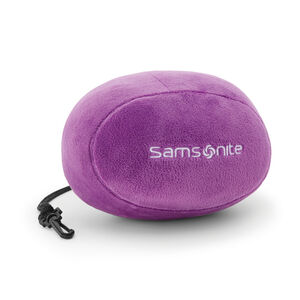 Memory Foam Pillow w/Pouch in the color Ultraviolet.