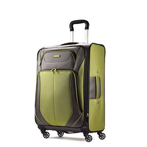 "Samsonite Elevation Xtreme 21"" Spinner in the color Grey/Lime."