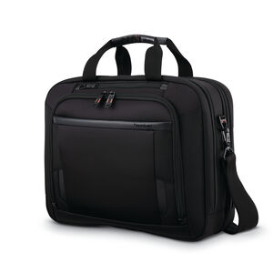 Samsonite Pro Double Compartment Brief in the color Black.