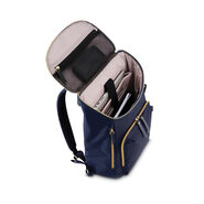 Samsonite Mobile Solution Deluxe Backpack in the color Navy Blue.