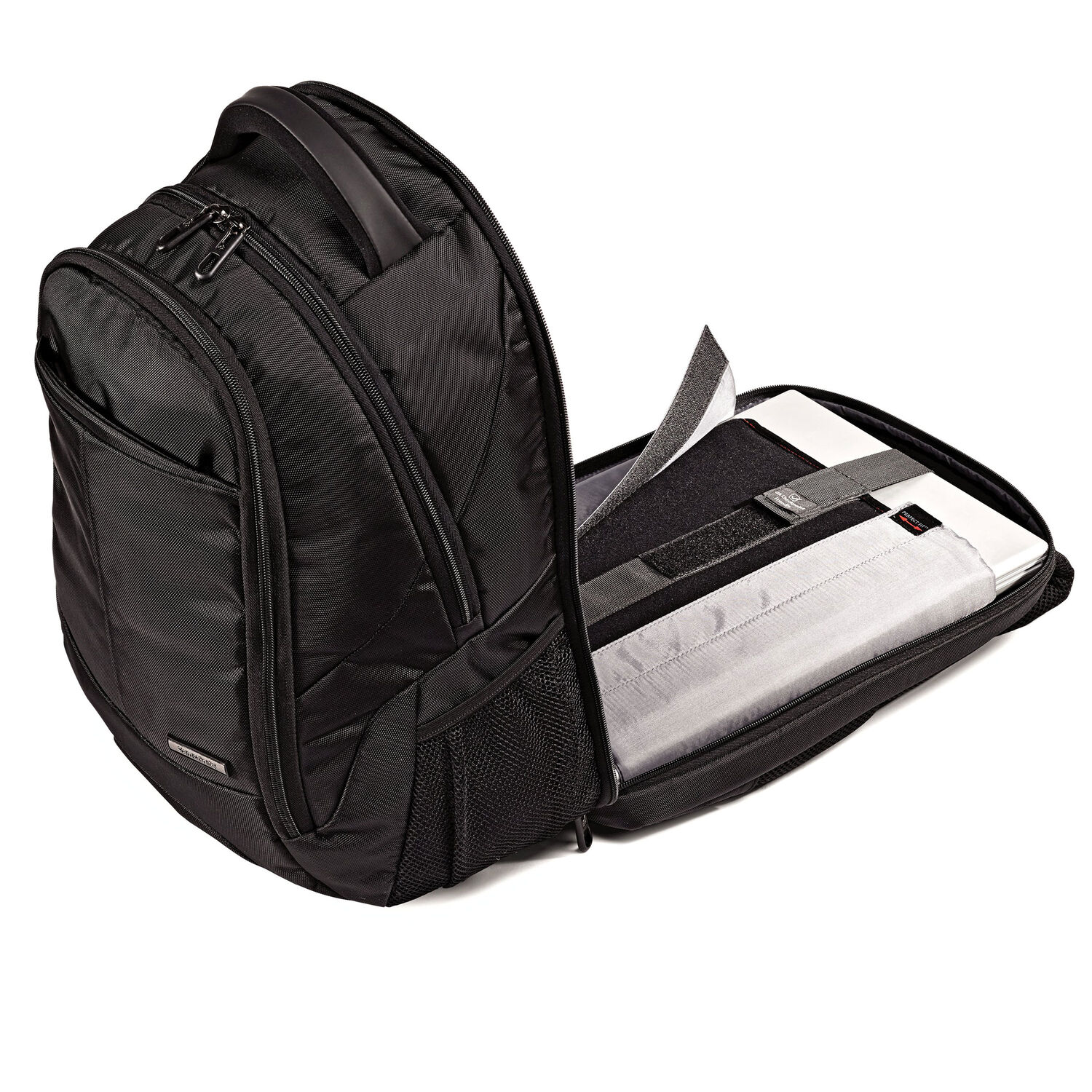 b3b2af49f Samsonite Classic Business Perfect Fit Backpack in the color Black.