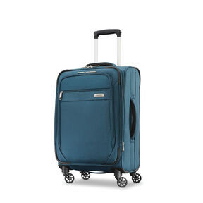 "Samsonite Advena 20"" Expandable Spinner in the color Teal."