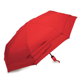Samsonite Samsonite Windguard Auto Open/Close Umbrella in the color Red.