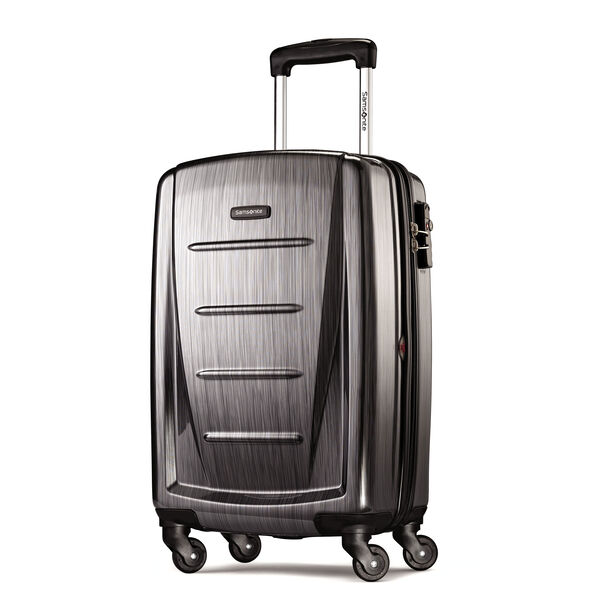 "Samsonite Winfield 2 Fashion 20"" Spinner in the color Charcoal."