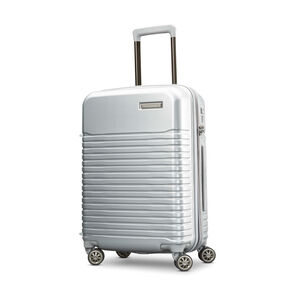 "Samsonite Spettro 20"" Spinner in the color Silver."