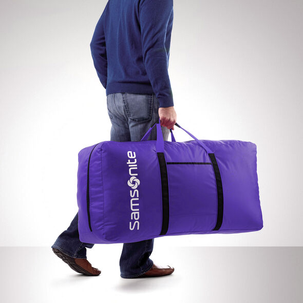 Samsonite Tote-A-Ton Duffle Bag in the color Purple.