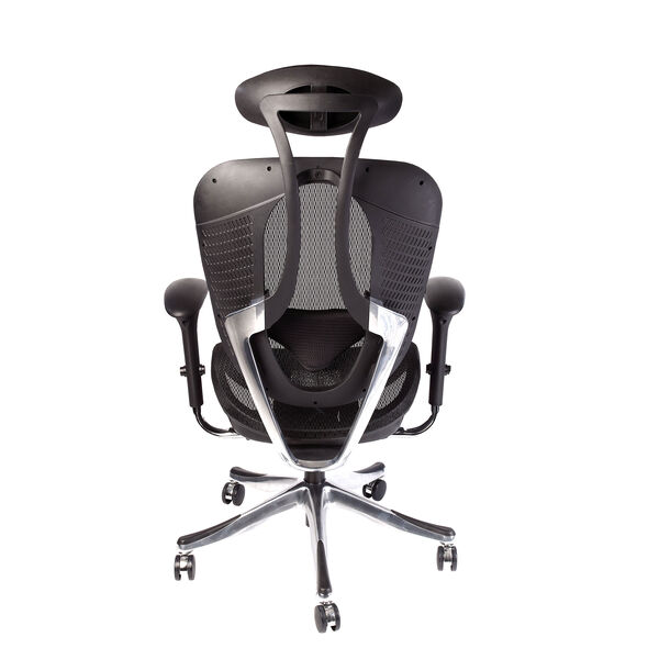 Samsonite Zurich Mesh Office Chair in the color Black.