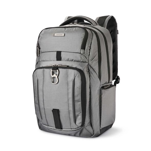 Samsonite Tectonic Easy Rider Backpack in the color Steel Grey.
