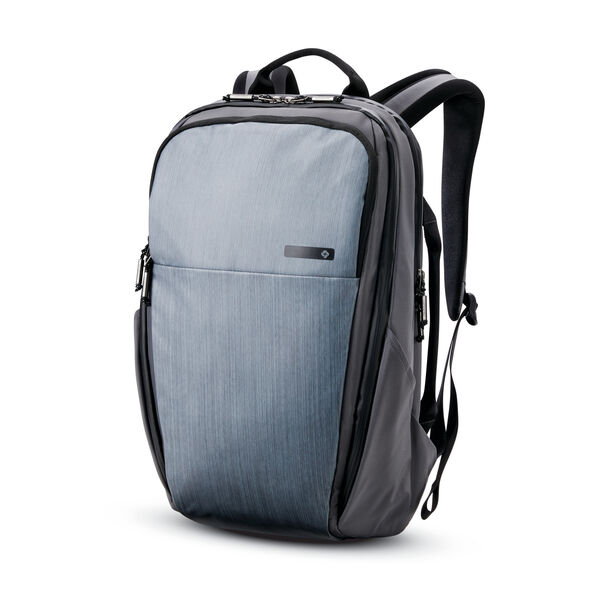 Samsonite Valt Deluxe Backpack in the color Flint Grey.