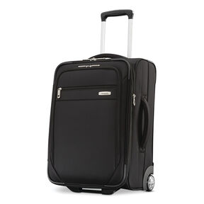 "Samsonite Advena 21"" Expandable Wheeled Upright in the color Black."