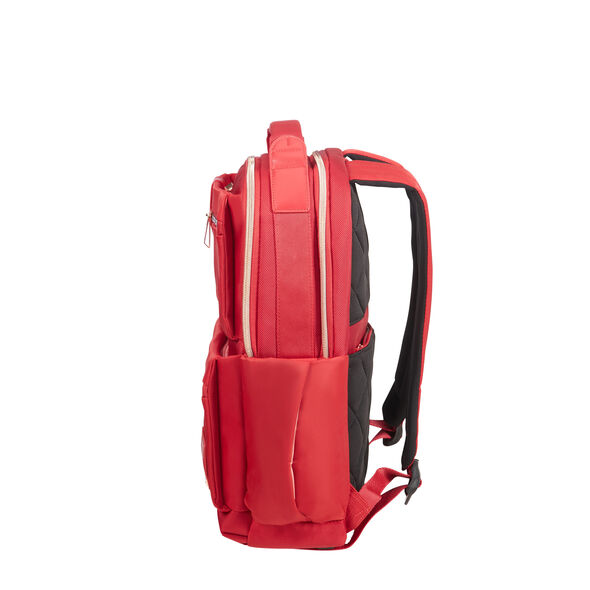"Samsonite Openroad Lady Laptop Backpack 14.1"" in the color Wine Red."