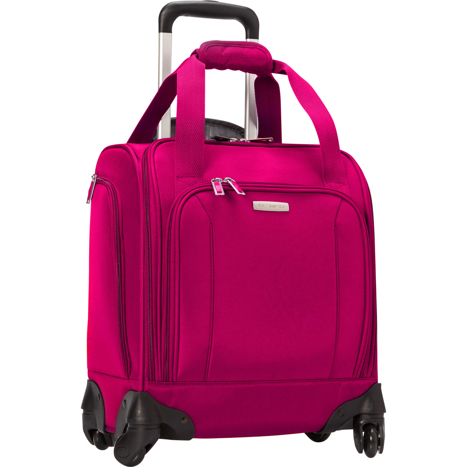 243518fab100c Samsonite Spinner Underseater with USB Port in the color Dark Pink.