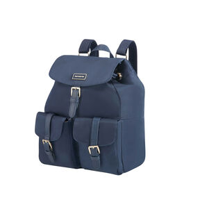 Samsonite Karissa Backpack 2 Pockets in the color Dark Navy.