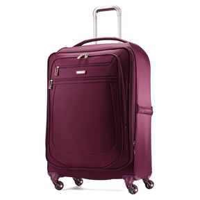 "Samsonite Mightlight 2 25"" Spinner in the color Grape Wine."