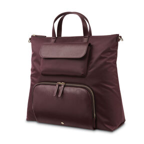 Samsonite Encompass Womens Convertible Brief Backpack In The Color Bordeaux