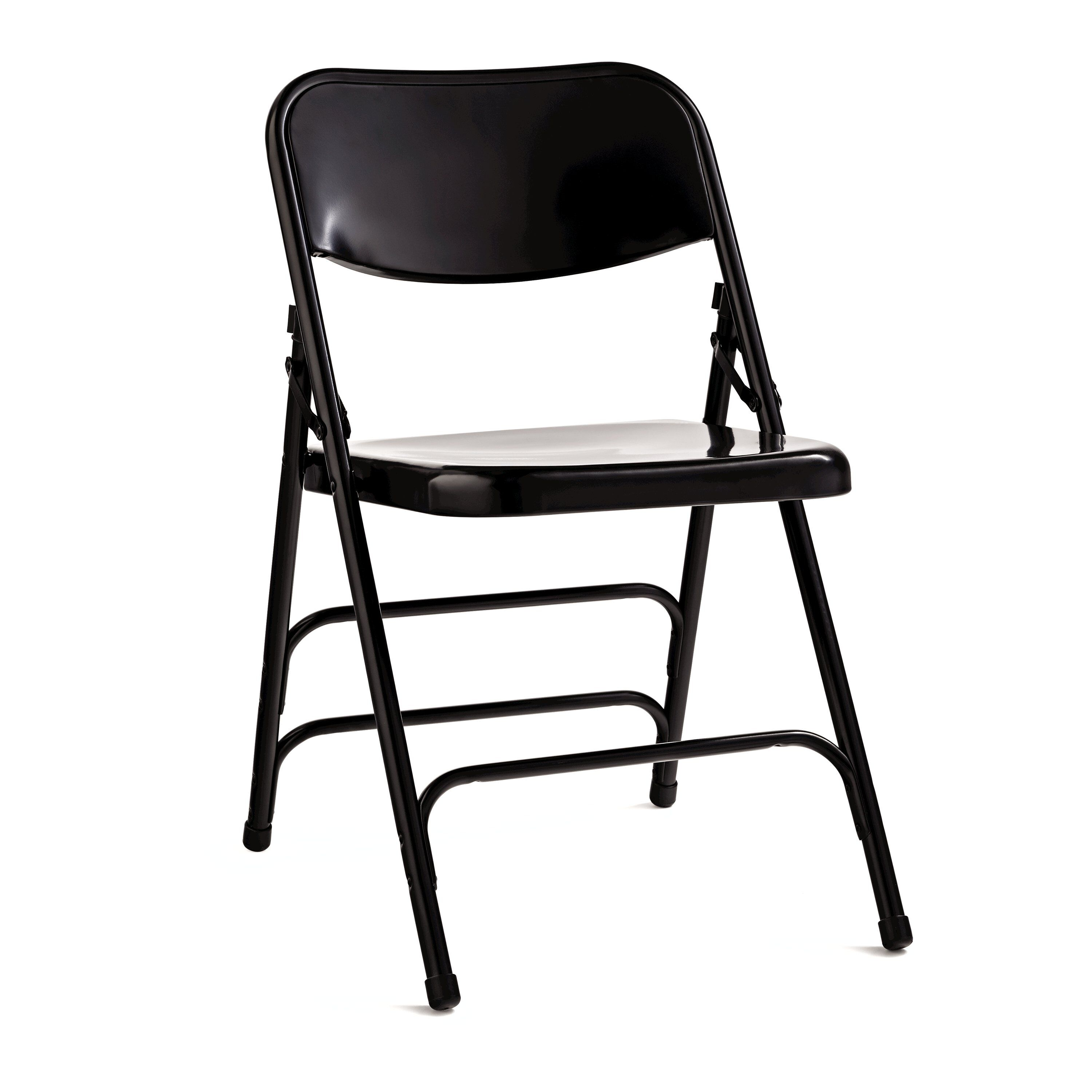 Perfect Samsonite Steel Folding Chair (Case/4) In The Color Black.