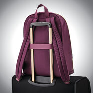 Samsonite Mobile Solution Essential Backpack in the color Damson Purple.