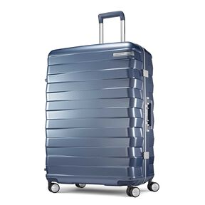 "Samsonite Framelock 28"" Spinner in the color Ice Blue."