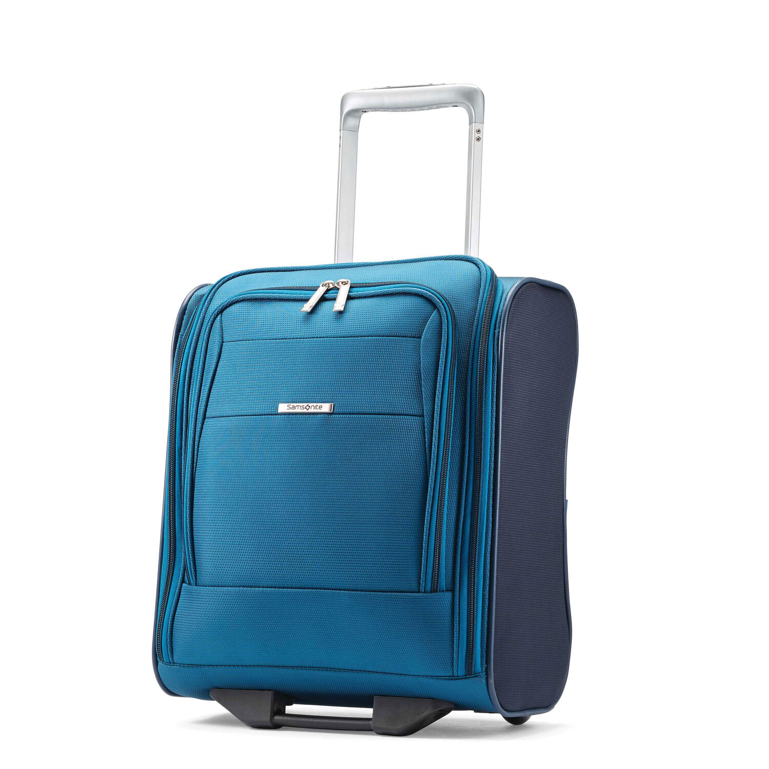 Samsonite Eco-Nu Wheeled Underseater Carry-On in the color Pacific Blue/Navy.